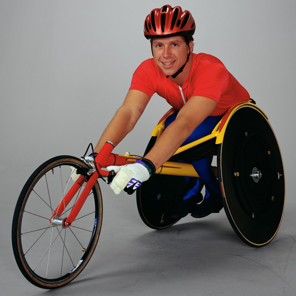 Wheelchair Cyclist