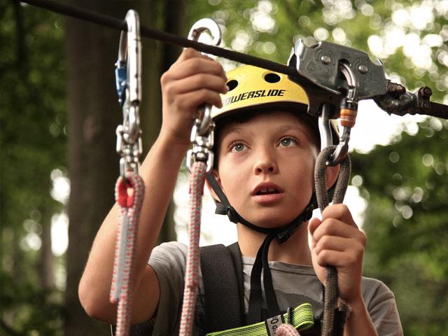Ung gutt fester klatrerep